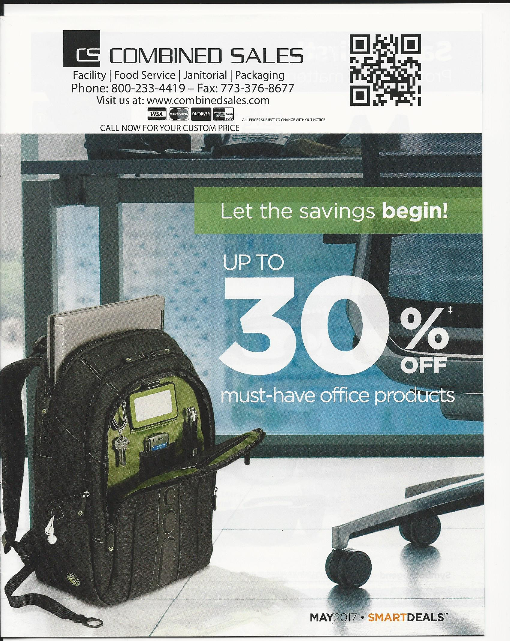 August Smart Deal Flyer - To the breakroom, and beyond!